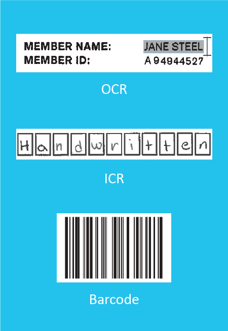OCR, ICR, and Bar Codes